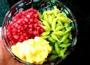 Món ăn vặt: cách nấu món CHÈ BÁNH LỌT, HẠT LỰU NƯỚC CỐT DỪA thơm ngon mát lanh của  Đậu Đỏ Trần