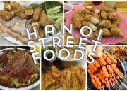 Ha Noi Street Foods | Ăn vặt Hà Nội #Vietnam